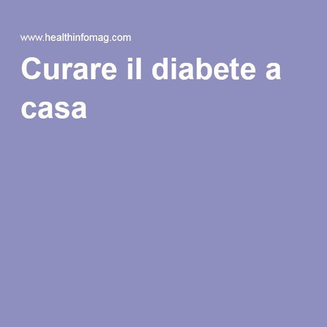 Curare il diabete a casa