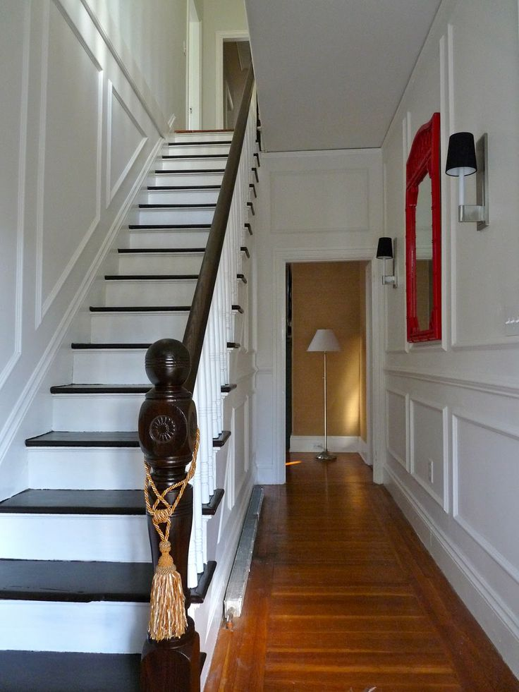 Small Foyer With Stairs : Best images about banisters on pinterest runners