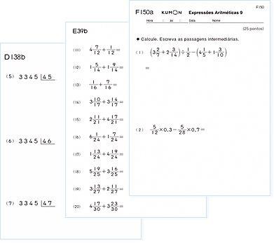 blocos lógicos atividades - regras | Kumon desenvolve uma sólida capacidade de leitura, resultando em ...