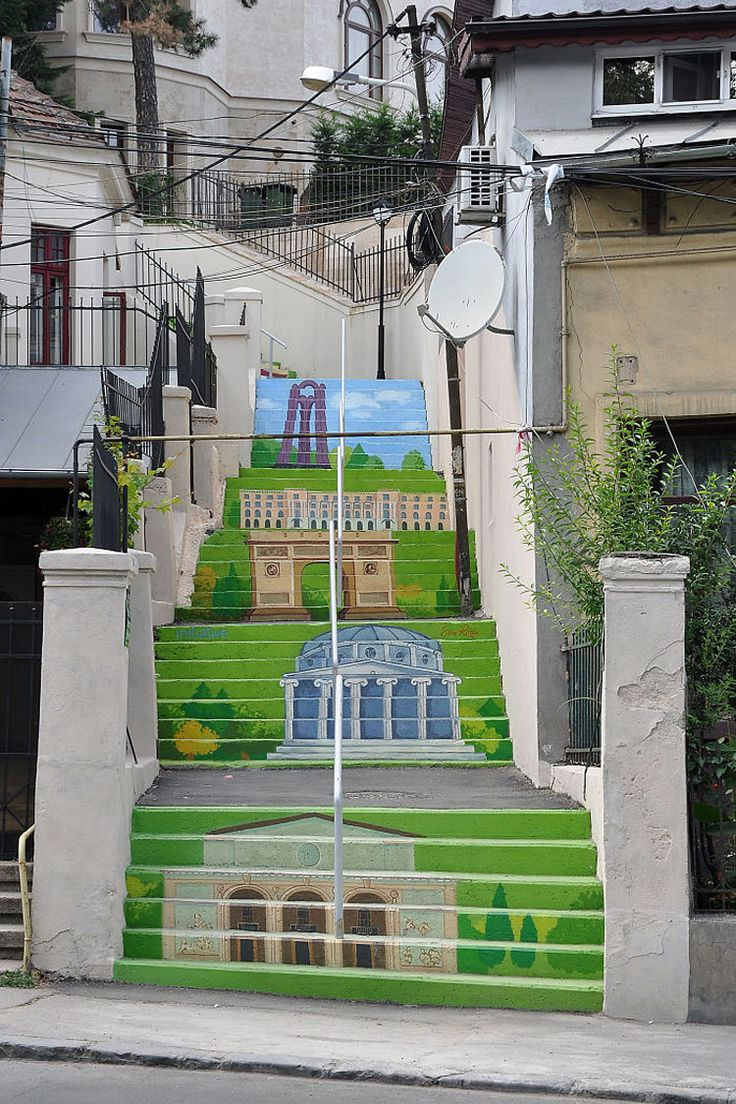 Scalinata Xenofon Street – Bucarest (Romania)