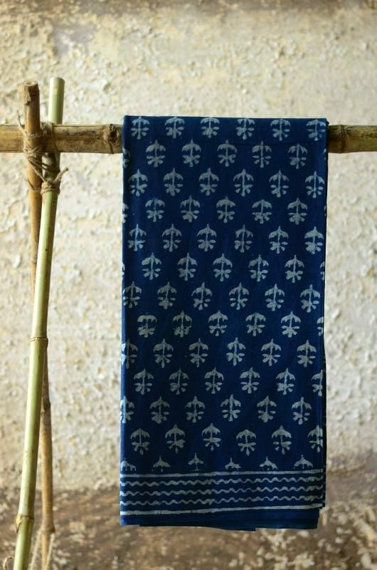 Immersed in the patterns of ancient tribal India, the Indigo prints of these…