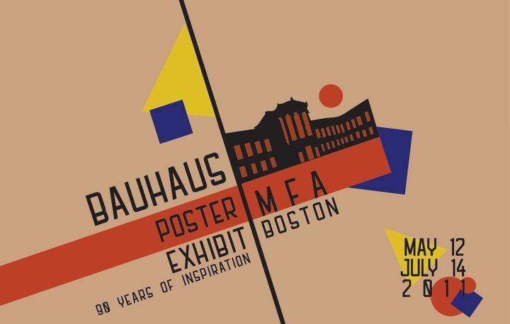 {Bauhaus Poster Exhibition: Museum of Fine Arts Boston ...
