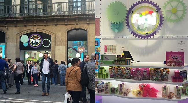 Fini Golosinas inaugura su cuarta flagship store en Pamplona