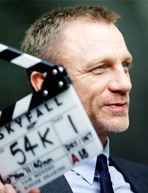 Daniel Craig on set ofSkyfall (2012), dir. Sam Mendes