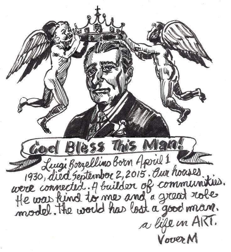 A good man has passed. #drawing #blackink #comics