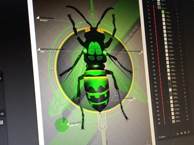 Wasp Toxic Jacket by Thomas Olofsson