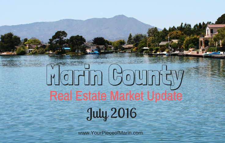 Activity in the Marin County Real Estate Market remains brisk in July 2016, despite a slight reduction in sales, signaling less heated conditions.