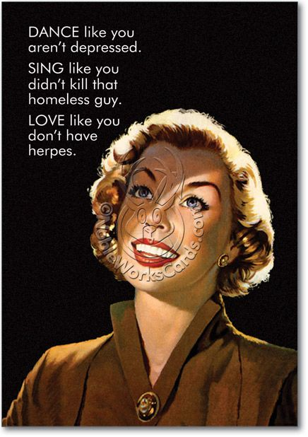 Dance Sing Love Card Funny Stuff Pinterest Funny
