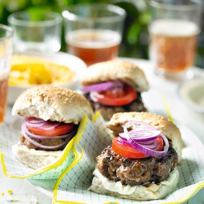 Add a little spice to your burgers with tobasco and horseradish for a surprise kick.