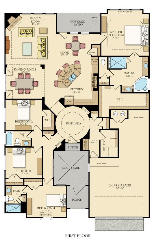 61 best Florida Architectural Styles images on Pinterest Country - new house blueprint esl