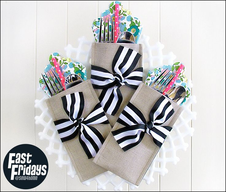Fast Fridays: Special Occasion Cutlery Pockets