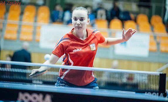Patnáctiletá stolní tenistka Blašková má bronz z ME do 21 let