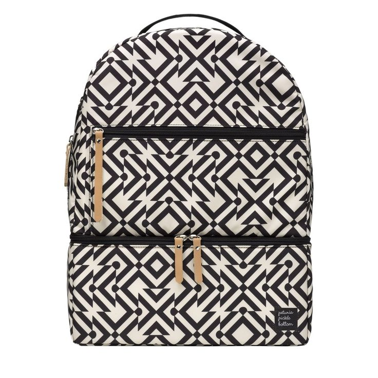 Petunia Pickle Bottom Axis Backback - Mazes of Milano | Specialty Diaper Bags for Trendy Moms!