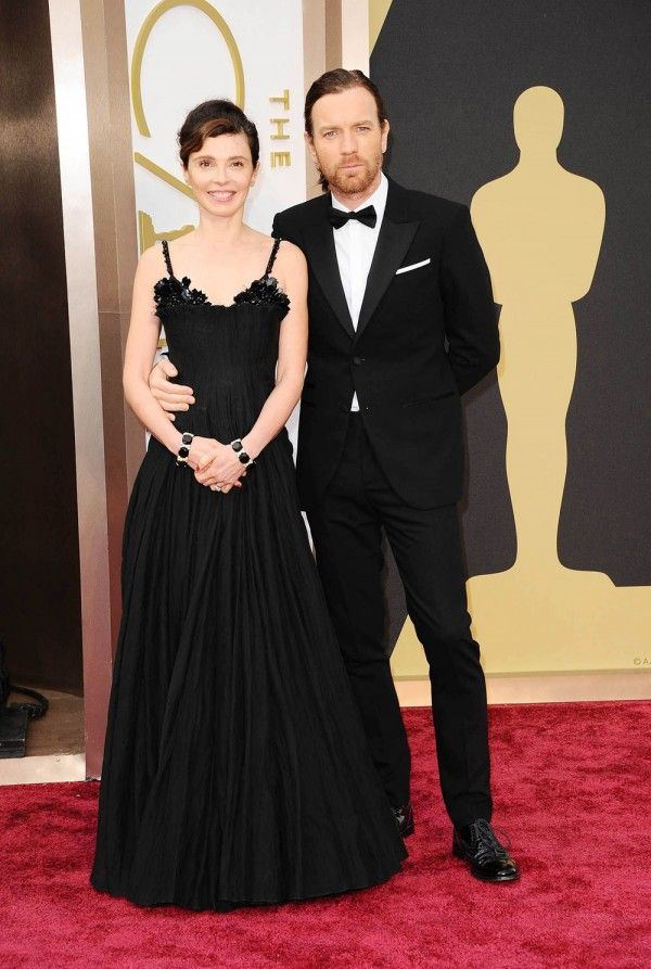 Ewan McGregor with wife Eve at the Oscars 2014
