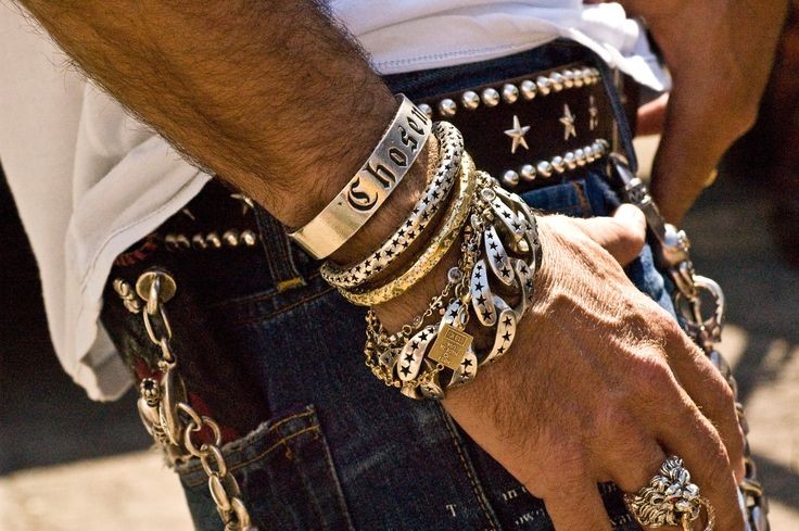 Image result for tacky jewelry men