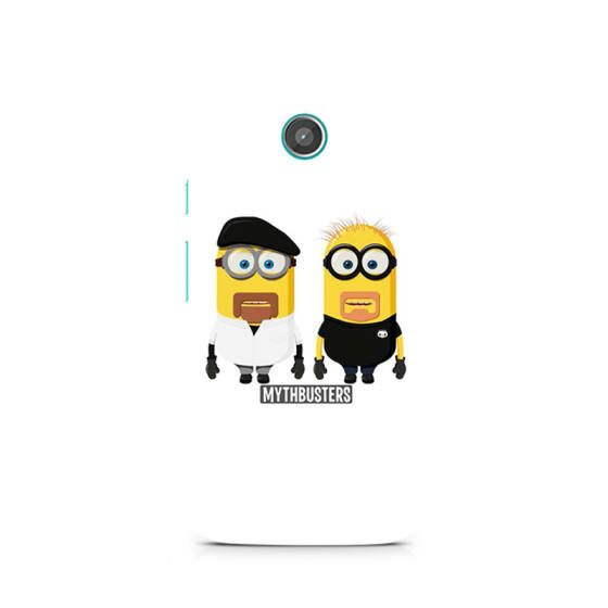 Shopo.in : Buy Moto G2 Cover_minion Mythbusters online at best price in Mumbai, India
