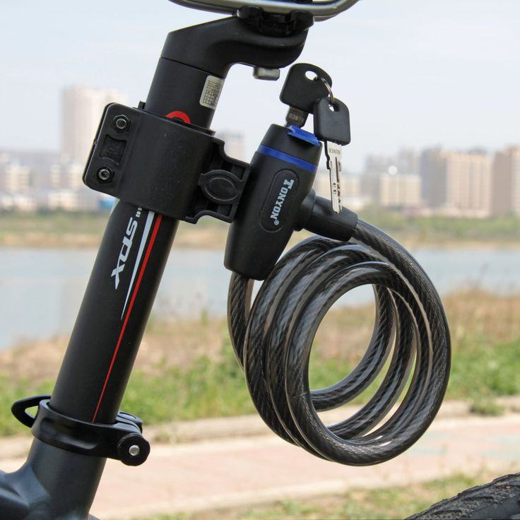 Self holded bike lock
