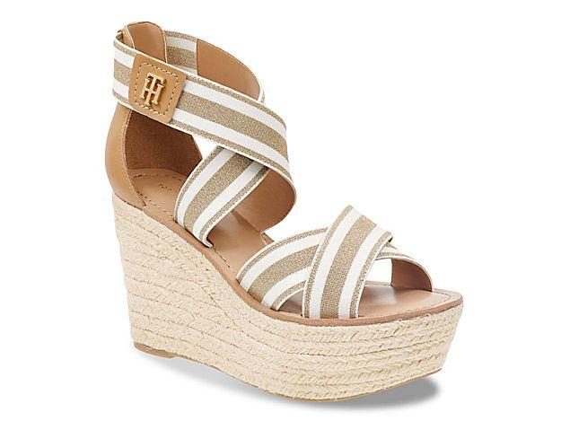 Women Thina Wedge Sandal -Gold Metallic