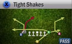 Baltimore Ravens Playbook  Singleback Doubles Flex (Hidden Formation)  Setup  1. *optional* block the TE for protection  2. Motion the X WR left  3. Snap after 4-5 steps  Your first read is the motioned WR this is a unbumpable route that is very difficult to. Next look to the deep corner WR to see if he opens against zone. Look to the far right WR on the corner route as a nice user catch option. Your final read would be the HB out of the backfield.