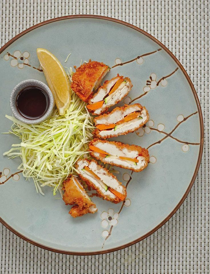 Cut the calories in delicious katsu with this chicken and vegetable version.