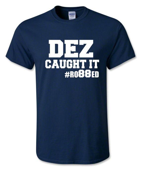 Dez Caught it Cowboys tshirt Tony Romo Jerry by InkSpotDesignsSA