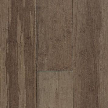 """Expressions 5-1/4"""" Solid Bamboo Hardwood Flooring in River Rock = $5.17/sq ft"""