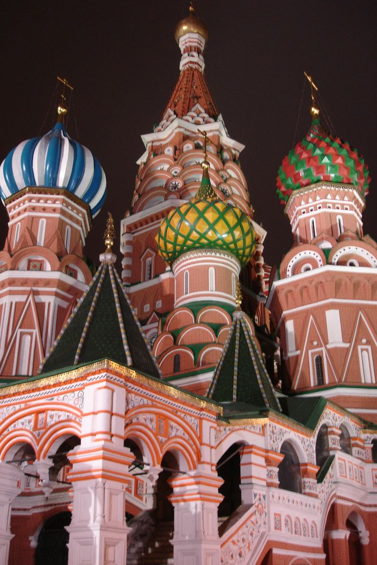 St. Basil's - Red Square, Moscow, Russia