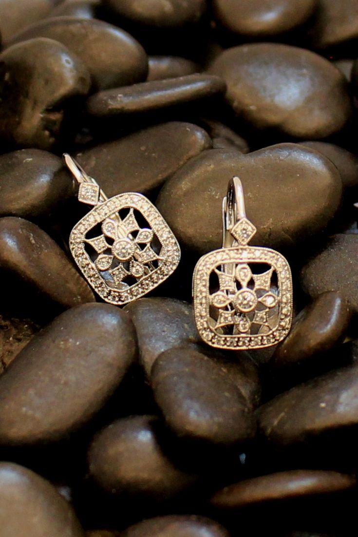 Vintage earrings by Beverley K.