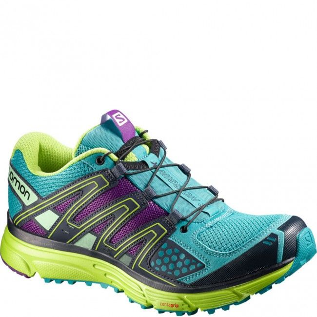 378288 Salomon Women's X-Mission 3 Running Shoes - Teal Blue www.bootbay.com