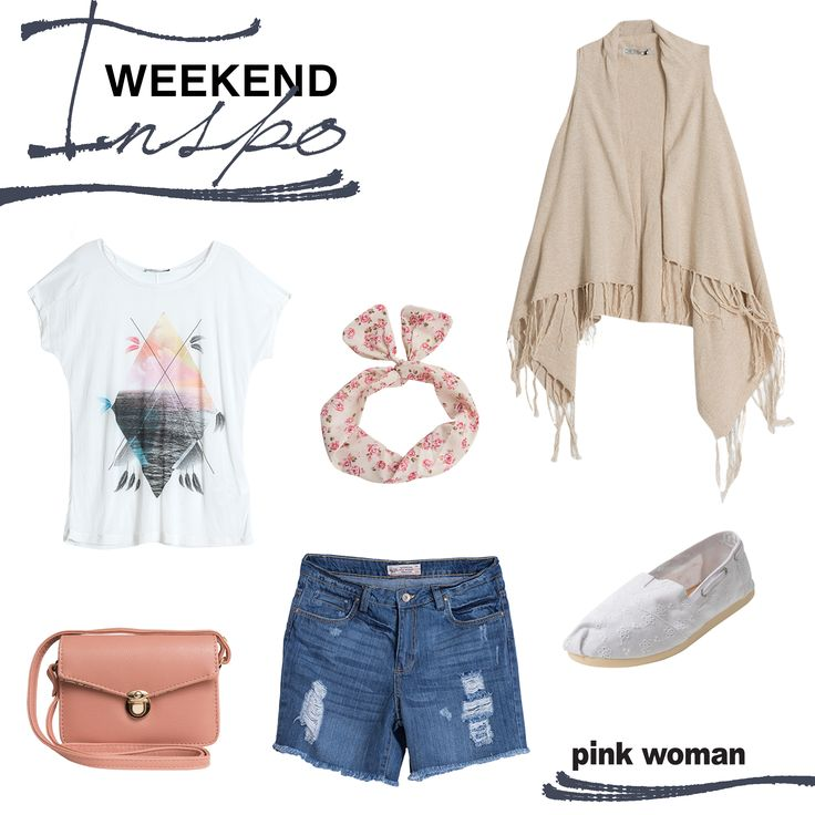 Shop your weekend inspo at Pink Woman! Shop fashion at www.pinkwoman-fashion.com or visit the store near you!