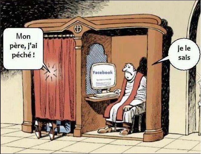 église et facebook