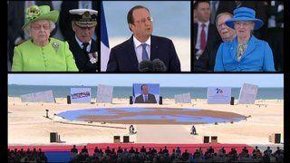 D-DAY 6.6.1944 - 6.6.2014 Revoir le spectacle de la cérémonie de commémoration internationale du débarquement à Ouistreham - France 3 Basse-Normandie