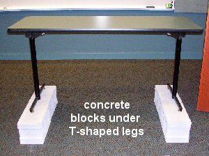 Jan P. Krentz - Table Leg Extenders