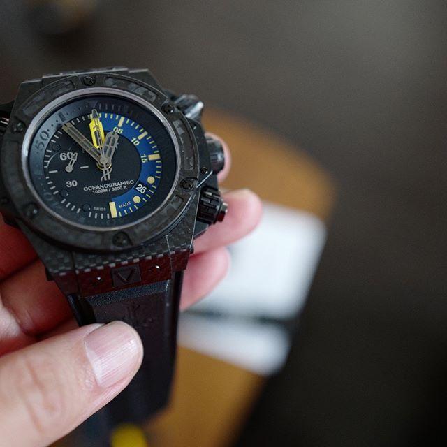 new product e5d95 500f6 ウブロの腕時計 #watch #fashion #Instapic #photooftheday ...