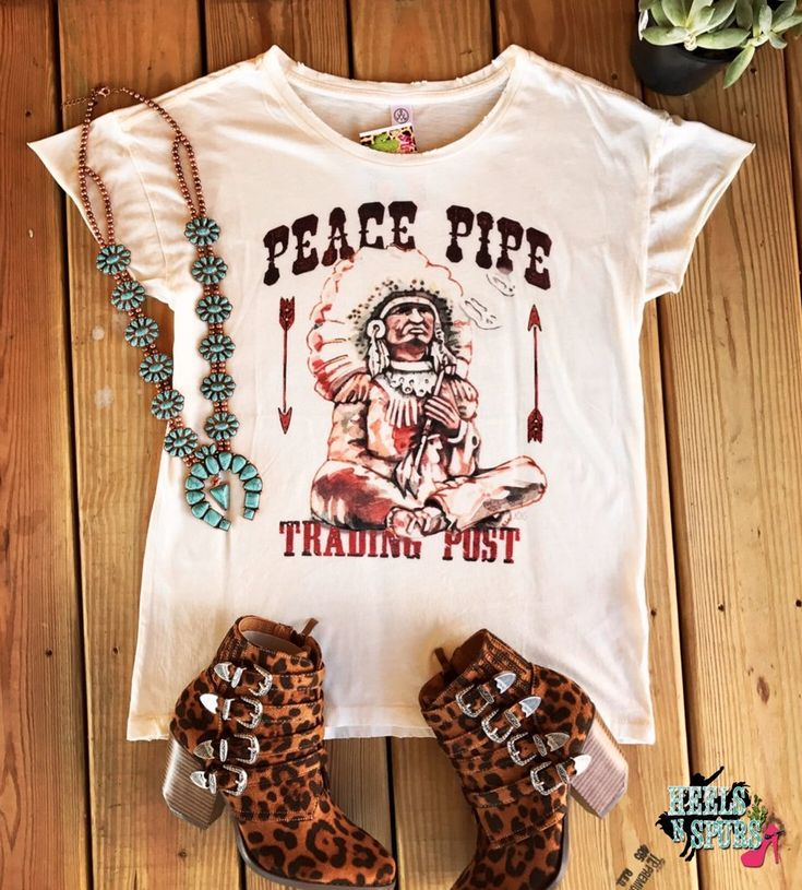 Peace Pipe Trading Post Tee