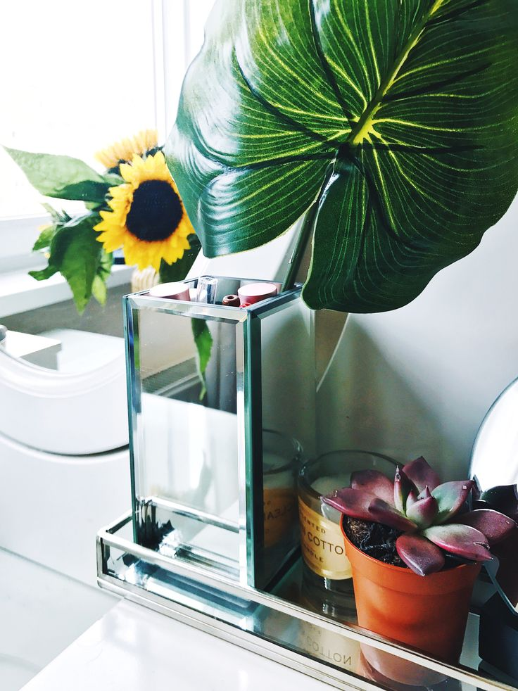 Home decoration storage sunflowers inspiration