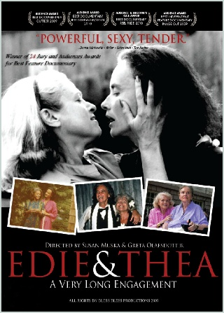 Just finished watching this beautiful and moving documentary; Edie and Thea: A Very Long Engagement. Pulls at the heart strings