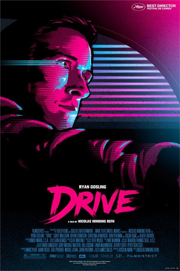 Alternative movie poster - Drive Movie Poster by James White