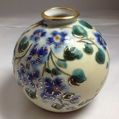 AMAZIING LIMOGES CAMILLE THARAUD VASE SIGNED BY ARTIST Posted with eBay Mobile