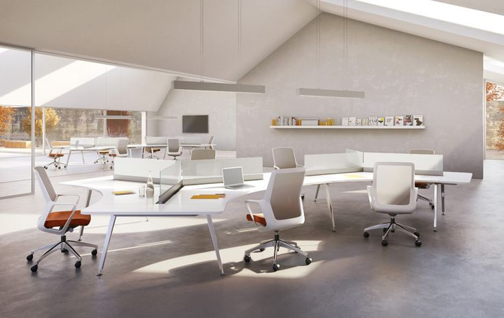 60 best office space images on pinterest office designs for Well designed office spaces