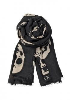Becksondergaard skull scarf