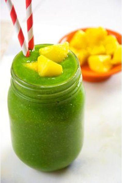 Cucumber Tropical Green Smoothie - Smoothie Hijau Tropis dengan Mentimun