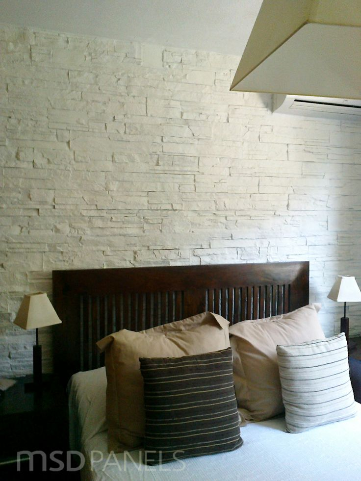 21 best Bedrooms images on Pinterest Rock, Brick and Brick paneling - contemporary wall paneling