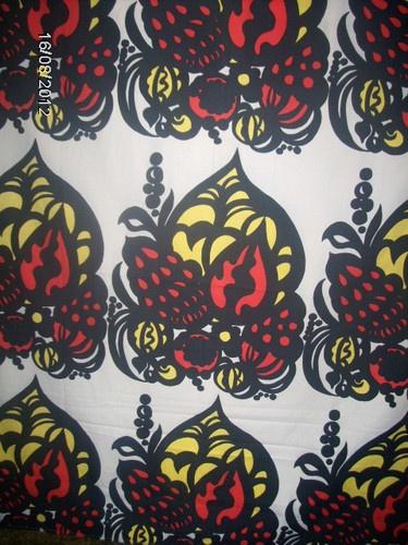 Fin-Helen CAPRI vintage fabric Ulla Härkonen E.Helenius 70s original Finland | eBay