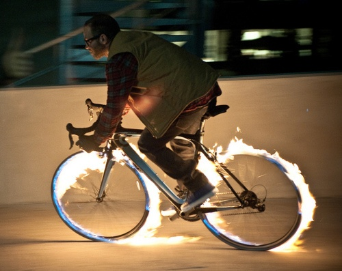 fireFire Bikes, Cycling Life, Bicycles Swag, Mad Cycling, Cycling Mad, Wheels, Burning Rubber, Rings Of Fire, Hot Rider