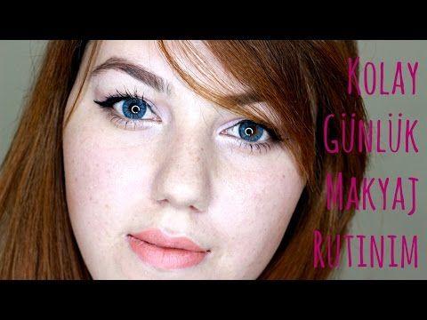 Kolay Günlük Makyaj Rutinim - YouTube