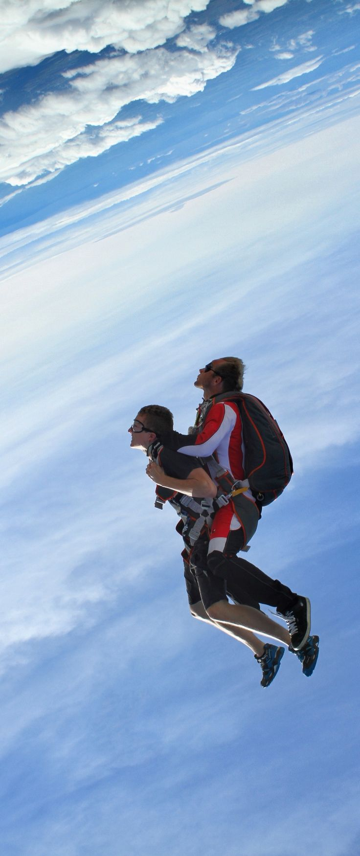 Sky Dive with my husband... he has this planned out for us already. Better start conquering the fear now!