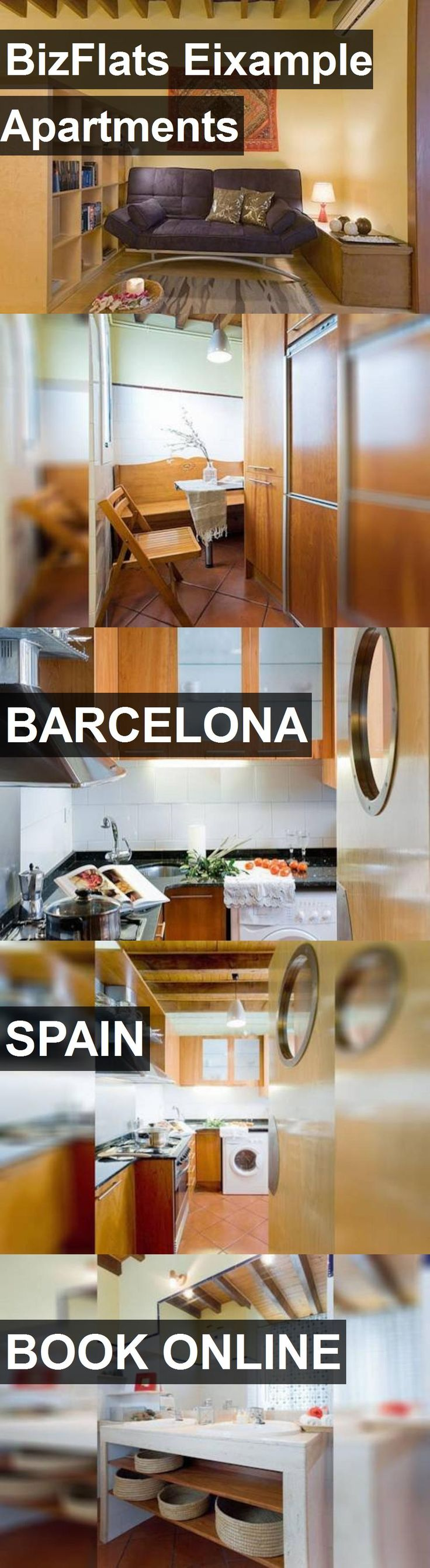 BizFlats Eixample Apartments in Barcelona, Spain. For more information, photos, reviews and best prices please follow the link. #Spain #Barcelona #travel #vacation #apartment