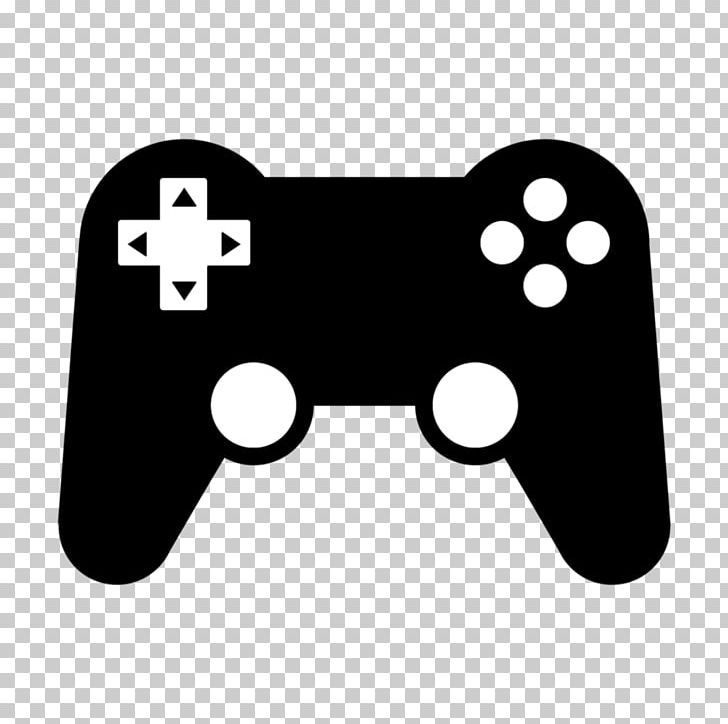 Joystick Game Controllers Video Game Computer Icons Png Black Electronics Game Game Controller Gamer Computer Icon Computer Video Games Gaming Computer