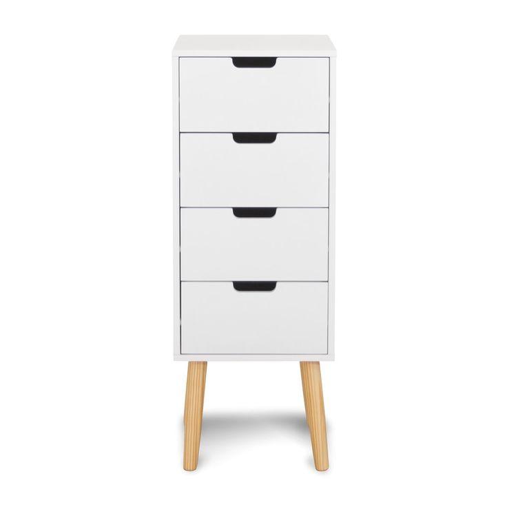 SILJE KOMMODE 4 SKUFFER - My Home Møbler